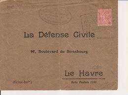 1930 France 06 Alpes Maritimes Nice Daguin 'Nice Reine De La Cote D'Azur' - Postmark Collection (Covers)