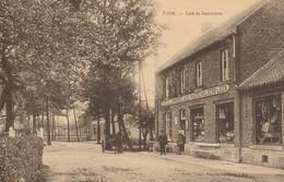 ASCH - Café Du Commerce Animée - Recto Griffe ASCH -1926 - Genk