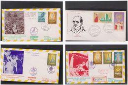 Lot 4 Enveloppes  Pape Paul VI - Autres - Europe