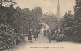 Pensionnat De Beirlegem - Allée De La Grotte- Recto Oblitération Relais Munckzwalm 1912 Vers Oosterzele - Zwalm