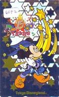 Télécarte Japon * 110-201551 * DISNEY * DISNEYLAND (6072) 15th ANNIVERSARY * Japan Phonecard Telefonkarte - Disney