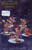 Télécarte Japon * 110-203455 * DISNEY  (6073) MERRY CHRISTMAS * WEIHNACHTEN * TELEFONKARTE * PHONECARD JAPAN * - Disney