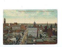 Yonge Street Looking North From C.P.R. Building Toronto - Toronto