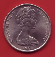- NOUVELLE ZELANDE - 50 Cents - 1968 - - Nouvelle-Zélande