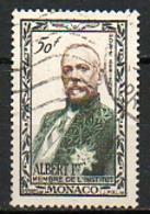 MONACO - 1949 - PA - N° 39 - (Centenaire De La Naissance Du Prince Albert 1er) - Poste Aérienne