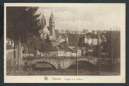 +++ CPA - Luxembourg  Luxemburg - CLERVAUX - Eglise Et Château - Nels    // - Clervaux