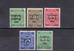 SBZ Nr. 207/11, Gest.(T 1664) - Sowjetische Zone (SBZ)