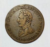 CANADA - WELLINGTON (Peninsular WAR) - HALF Penny Token ( 1812 ) / Copper - Monetari / Di Necessità