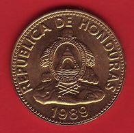 - HONDURAS - 10 Centavos - 1989 - - Honduras