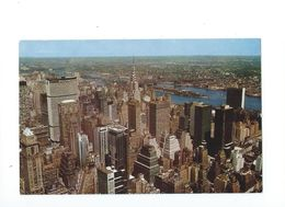 New York City As Seen From The Empire State Building 1966 - Multi-vues, Vues Panoramiques