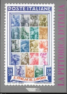 LA PITTORICA D'ITALIA - ITALIA AL LAVORO - EDIZIONE POSTE ITALIANE 1995 - Filatelia E Historia De Correos