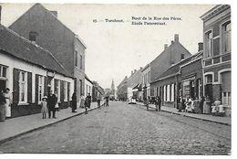 Turnhout, Einde Paterstraat, Verstuurd 1913 - Turnhout