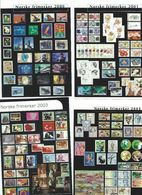 Stamps On Postcards - Norway.  A-122 - Stamps (pictures)