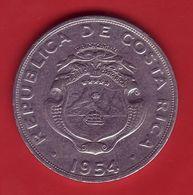 - COSTA RICA - 2 Colones - 1954 - - Costa Rica