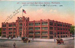 Etats Unis. Lewis And Clarke High Scholl, Spokane, Washington - Spokane