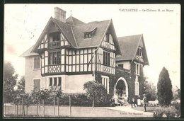 CPA Vauxdétré, Le Chateau H. De Mumm - Non Classificati