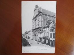 Aire Sur La Lys ,  Eglise St Jacques , Dos 1900 - France