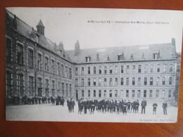 Aire Sur La Lys , Institution Ste Marie , Cour Interieure - France