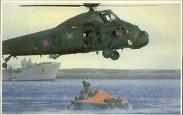 GUERRE DES MALOUINES - Angleterre - Argentine - Série War In The South Atlantic - Militaires - Sauvetage - Hélicoptère - Militaria