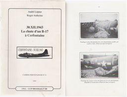 1943 Chute D'un B17 à Cerfontaine - Guerra 1939-45