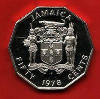 - JAMAIQUE - Fifty Cents. 50 Cents - 1978 - - Jamaique