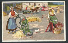 +++ CPA - Carte Privée - OVERPELT - Carte Publicitaire Pub Publicité Van Lindt - Schoenaers - Ferme - 1915    // - Overpelt