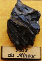 AA  177 ).....MINES / MINEURS /....PIN'S  DU  MINEUR......Morceau De Houille Calibré, De Grosseur Moyenne.....GAILLETTE - Non Classificati