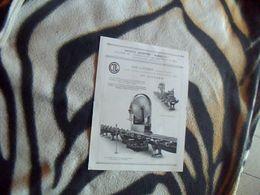 Publicitée Ancienne  Travail Du Bois   MARQCOL Usine A Moulins S/ Alliers Scie A Ruban Type DIYCARD - Publicidad