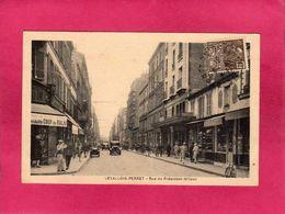 92 Hauts De Seine, Levallois-Perret, Rue Du Président Wilson, Animée, Voitures, Commerces, 1931, (M. Lévy) - Levallois Perret
