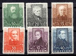 Autriche YT N° 399/404 Neufs *. B/TB. A Saisir! - 1918-1945 1st Republic