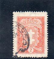 LITUANIE 1929-31 O - Lituanie