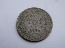 Inde Brittanique    Quarter Anna  1862 Bombay    TTB     Victoria           Km#467  Lot 2 - India