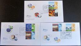 DEUTSCHLAND 2006 Mi-Nr. 2517/21 Zusammendrucke FDC - FDC: Enveloppes