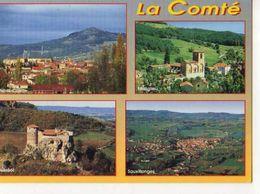 63 LA COMTE  Vic Le Comte  Eglise Abbatiale De Manglieu  Chateau De Busseol Vue Generale De Sauxillanges - Other Municipalities
