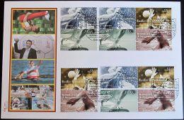 DEUTSCHLAND 2007 Mi-Nr. Block 70 Zusammendrucke FDC - FDC: Enveloppes