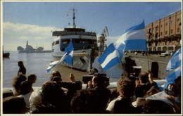 GUERRE DES MALOUINES - Angleterre - Argentine - Série War In The South Atlantic - Retour Soldats Buenos Aires - Militaria