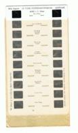 Plaquette De 10 Vues Stéréoscopiques Pour Appareil Lestrade  COLMAR - Alsace  +/- 1960 - Visionneuses Stéréoscopiques