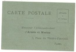 ARMEE Et MARINE. CARTE POSTALE NEUVE. PARIS. - Vieux Papiers