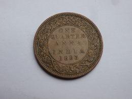 Inde Brittanique    Quarter Anna  1883 Bombay    TTB     Victoria           Km#486 - India