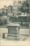 AK Darmstadt, Denkmal Grossherzog Ludwig IV, Um 1900 (28960) - Darmstadt