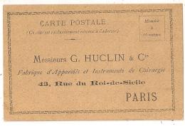 APPAREIL ET INSTRUMENTS DE CHIRURGIE. CARTE POSTALE NEUVE. PARIS. - Unclassified