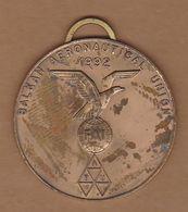 AC - BALKAN AIR GAMES AEROMODELING 12 - 20 AUGUST 1995, ANKARA BALKAN AERONAUTICAL UNION BRASS MEDALLION - Other
