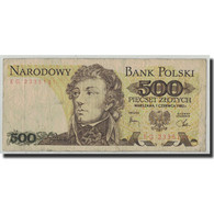 Billet, Pologne, 500 Zlotych, 1982, 1982-06-01, KM:145d, B+ - Polonia