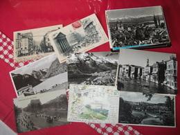 Lots:76 Cp  Cartes  Etrangers - Postcards