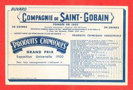 BUVARD Produit Chimique Saint Gobain - G