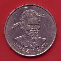- SWAZILAND - 1 Lilangeni - 1981 - - Swaziland