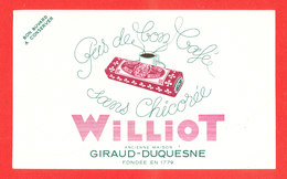 BUVARD Chicorée WILLIOT - Café & Thé