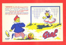 BUVARD Tartinette GRAF Football - Buvards, Protège-cahiers Illustrés