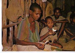 Les Hommes Du Sahel Paysannes Du Wollo Ethiopie, Photo J Gabin, Fabrication De Fil - Ethiopia
