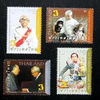 Thailand Stamp 2011 100th Ann Of Momrajawongse M.R. Kukrit Pramoj - Thailand